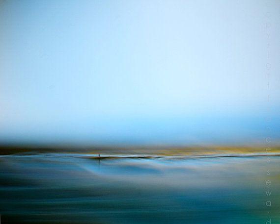 Blue Zen Fine Art Photograph Oceanscape By Francesphotography 430 00 Abstract Landscape Landscape Photography Fine Art Landscape Photography