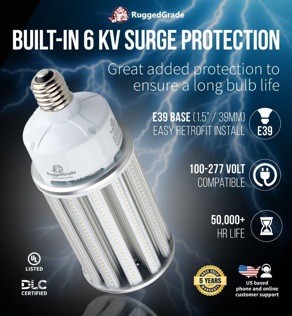 120 Watt E39 Led Corn Bulb Aries S Series 16 250 Lumens Bulb Led Light Bulb Light Bulb