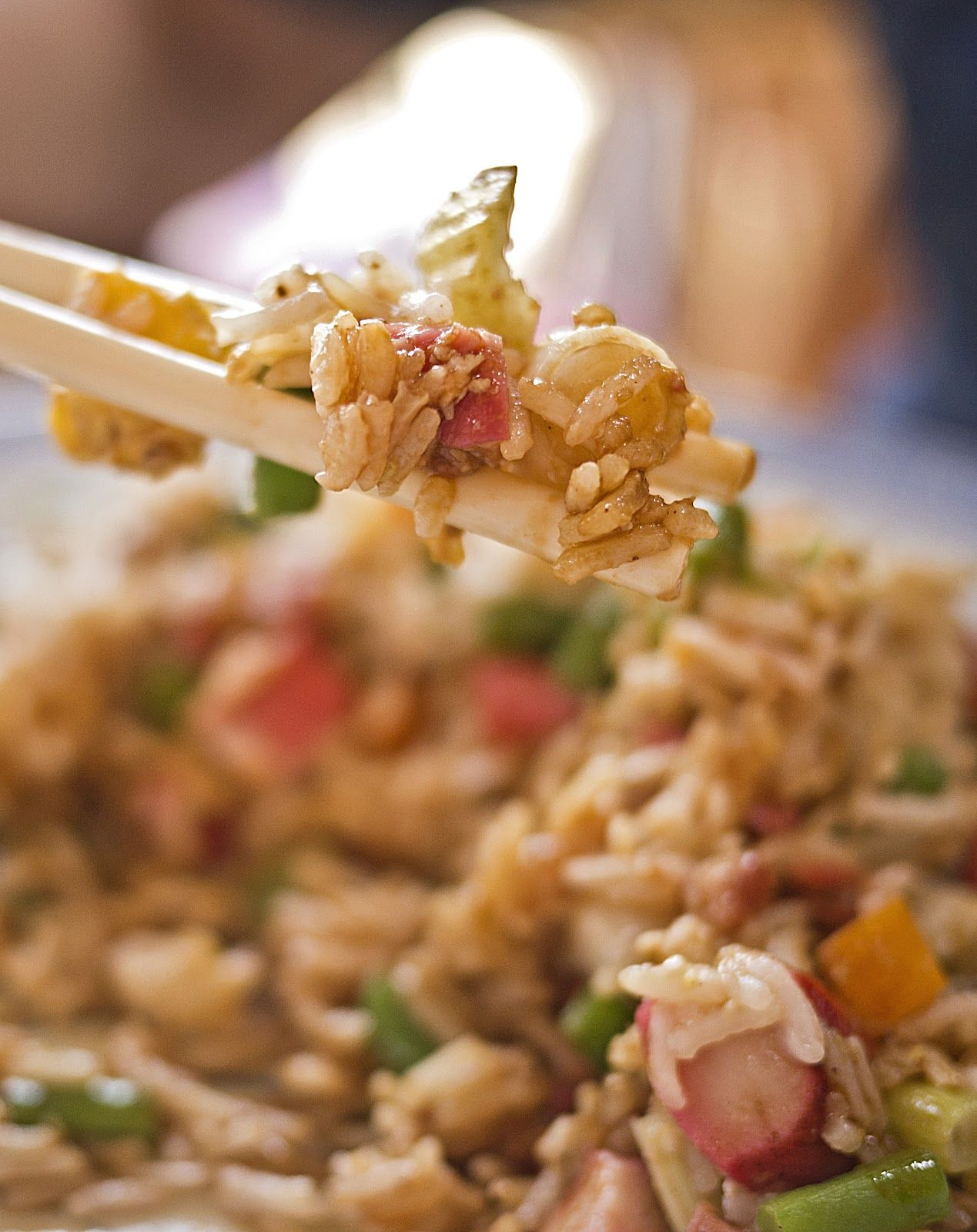 Japanese Cha-han, Egg Fried Rice with Chicken Recipe