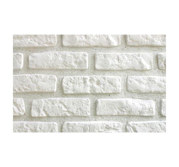 Plaqueta con acabado ladrillo klimex milano klimex white - Plaqueta decorativa piedra ...