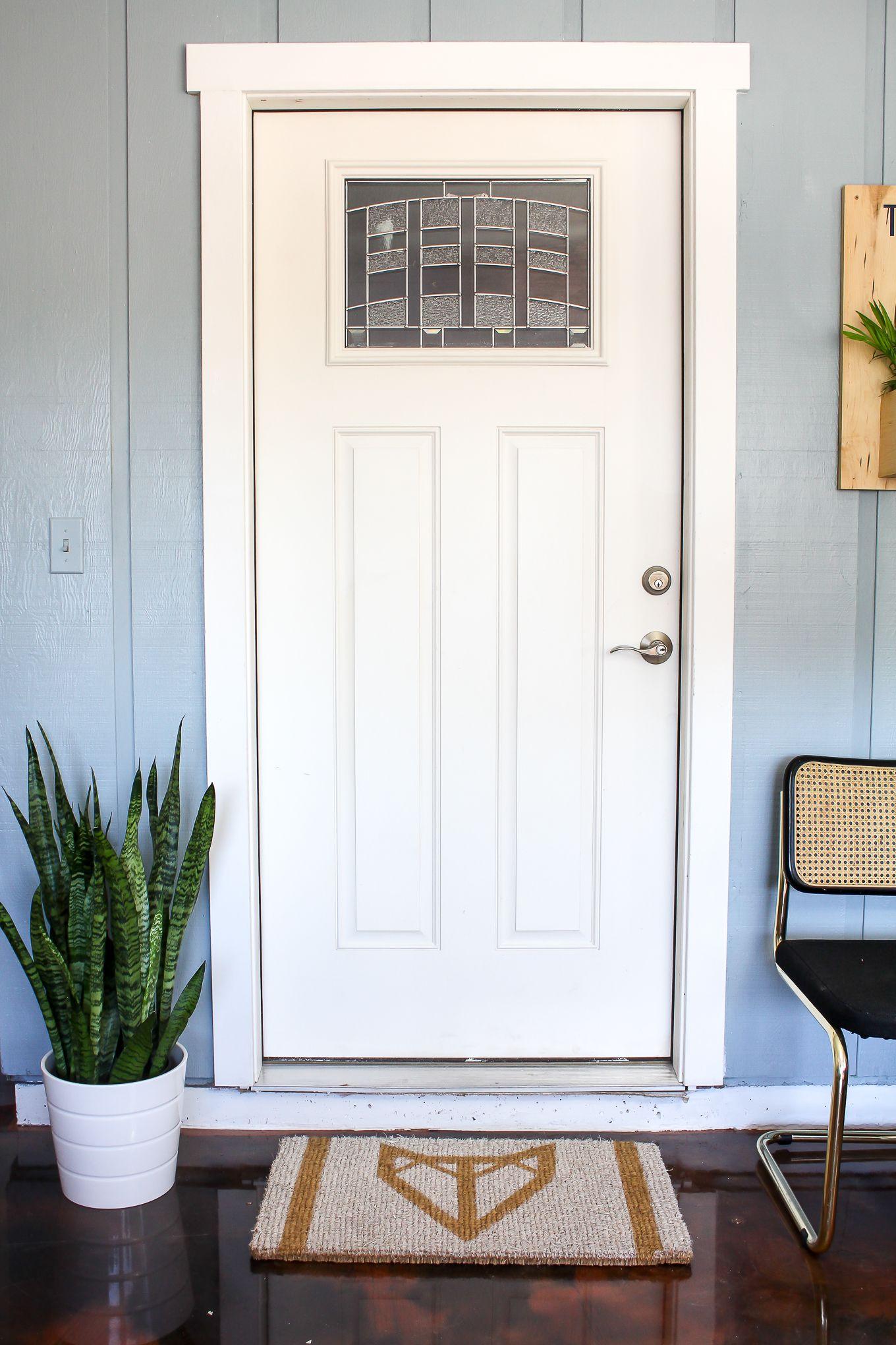DIY Fox Door Mat   Doormat, Craft and DIY ideas