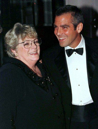 George Clooney and his aunt, Rosemary Clooney