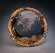 antique moss agate jewelry by Faberge