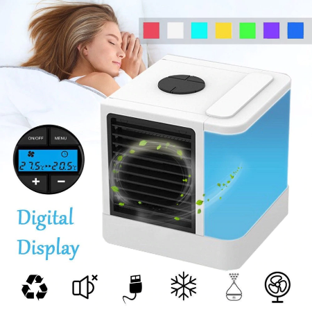 Personal Mini Air Conditioner w/LED Color Panel 37.89