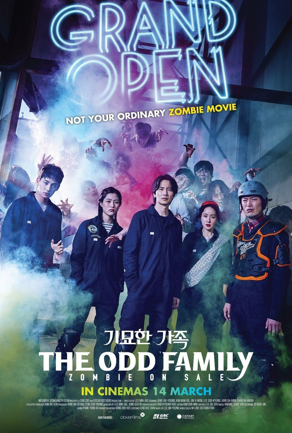 Image result for The Odd Family: Zombie on Sale poster