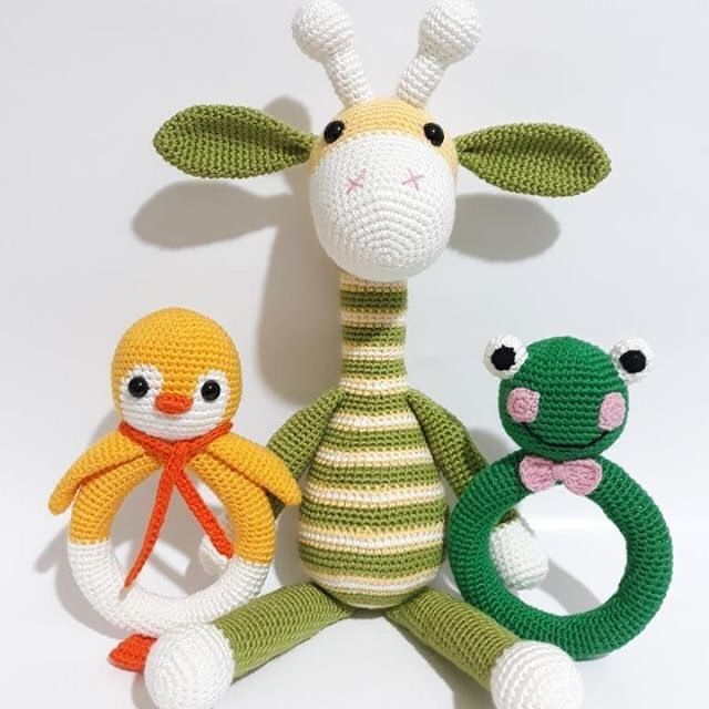 Best Amigurumi Crochet Giraffe Patterns - Amigurumi #crochetgiraffepattern