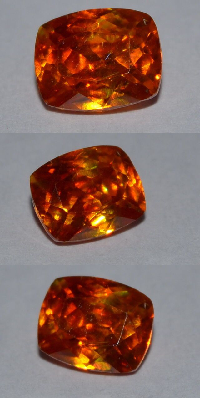 Sphalerite 181106: Surreal 1.05Ct Natural Untreated Cushion Cut Spainish Sphalerite Gemstone BUY IT NOW ONLY: $34.95