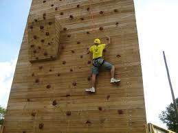 Image result for outdoor climbing wall