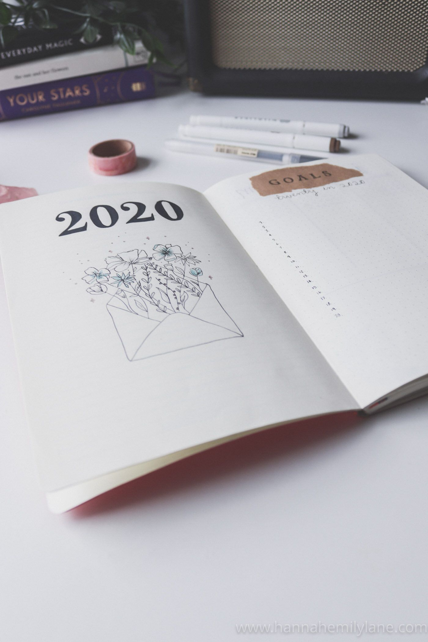 2020 Bullet Journal Set Up — Hannah Emily Lane