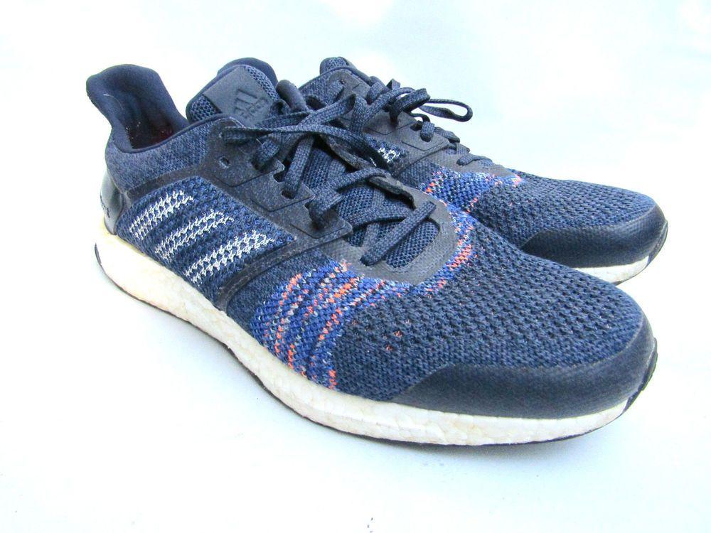 Mens Blue Adidas Ultra Boost ST Running