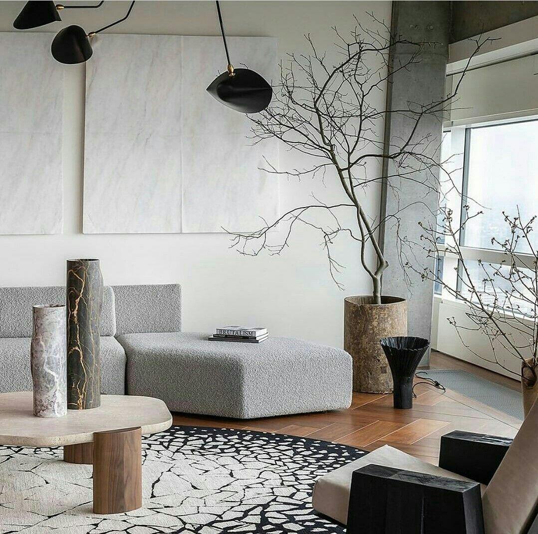 A Custom Round Rug Interior Design Home Decor Design