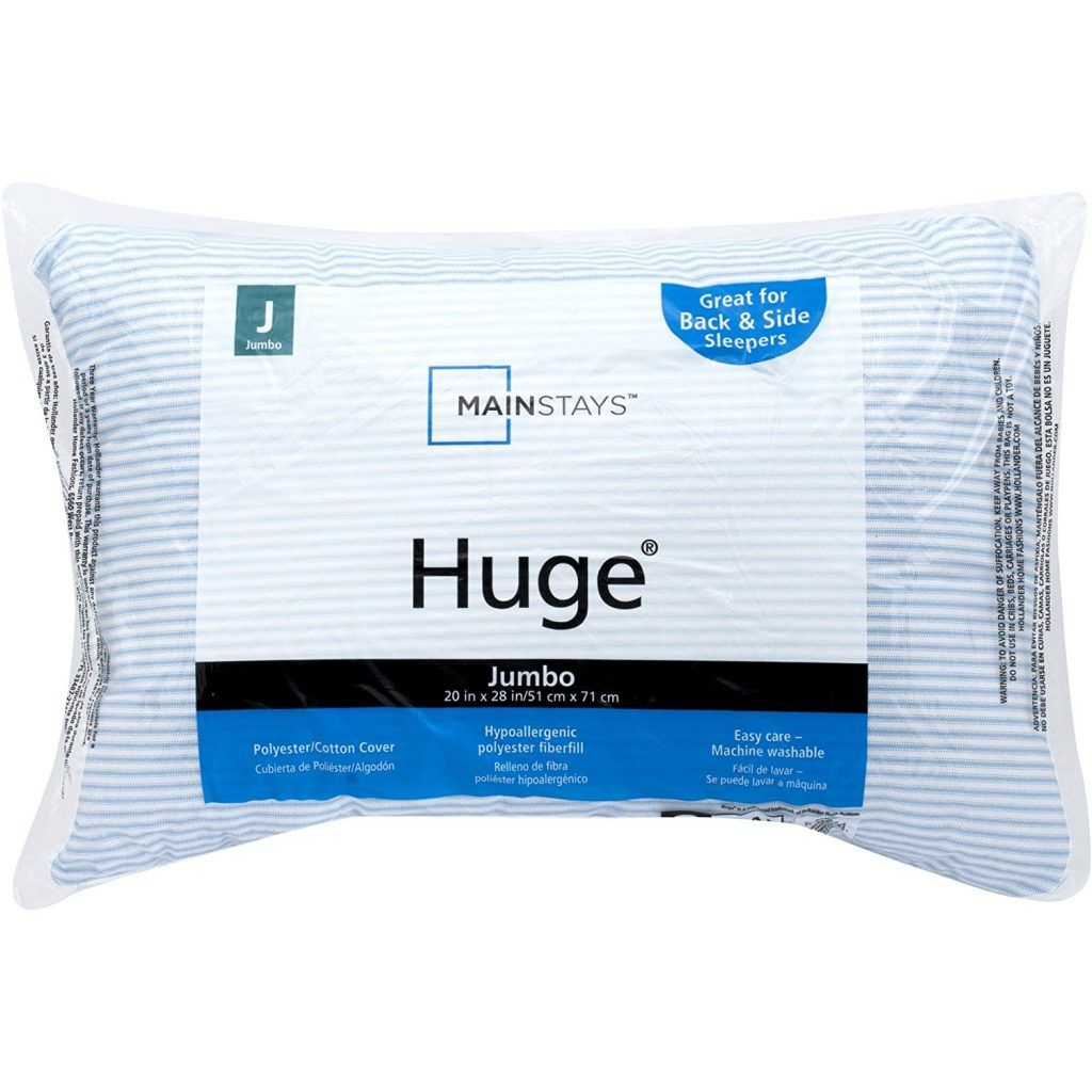 Huge Pillow Bed Soft pillows, Blue, white, Pillows