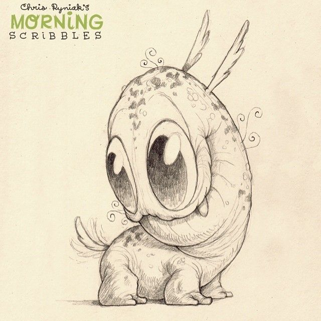 Yes, your tail HAS alway been there…  #morningscribbles