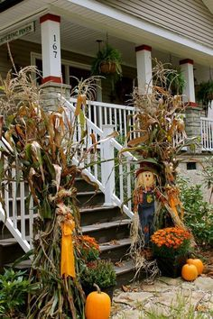 decorating with cornstalks - Google Search & decorating with cornstalks - Google Search | Home sweet home ...