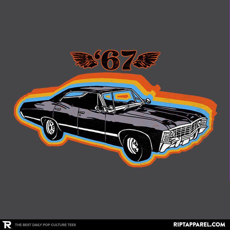 Baby Supernatural Chevy Impala T Shirt Supernatural Tshirt