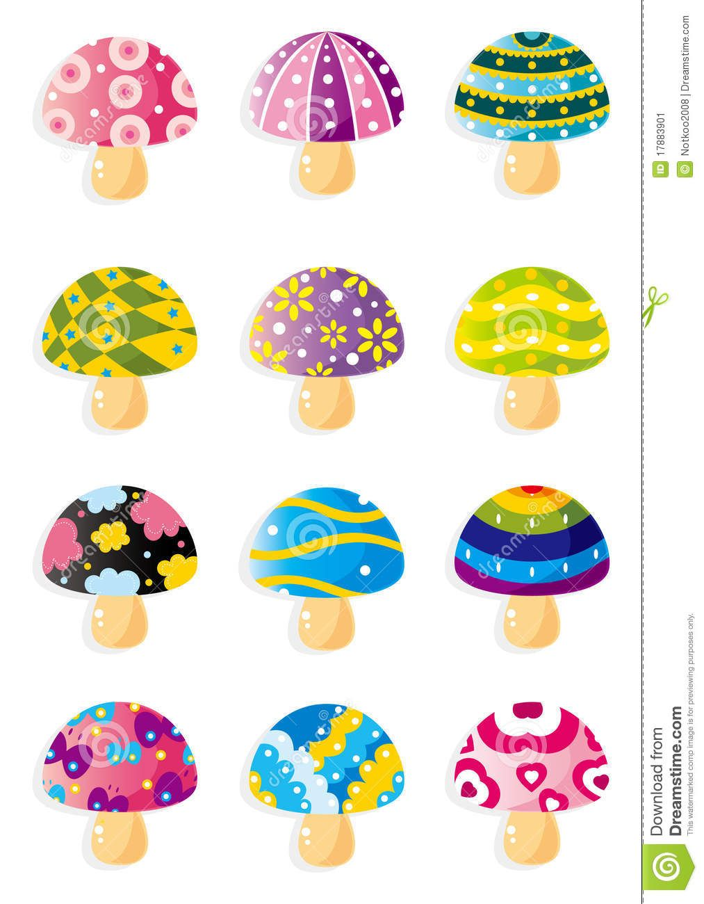 15 Best New Mushroom Drawing Color