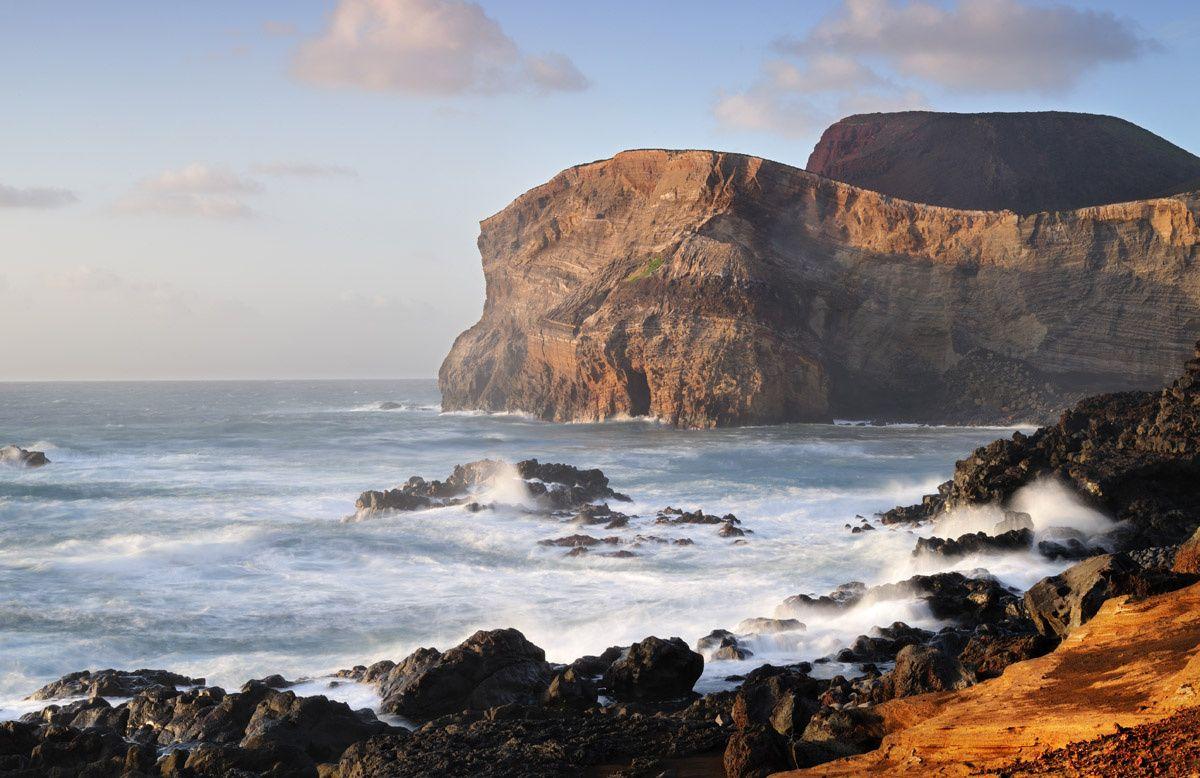 Playa Ponta dos Capelinhos, Faial, Azores