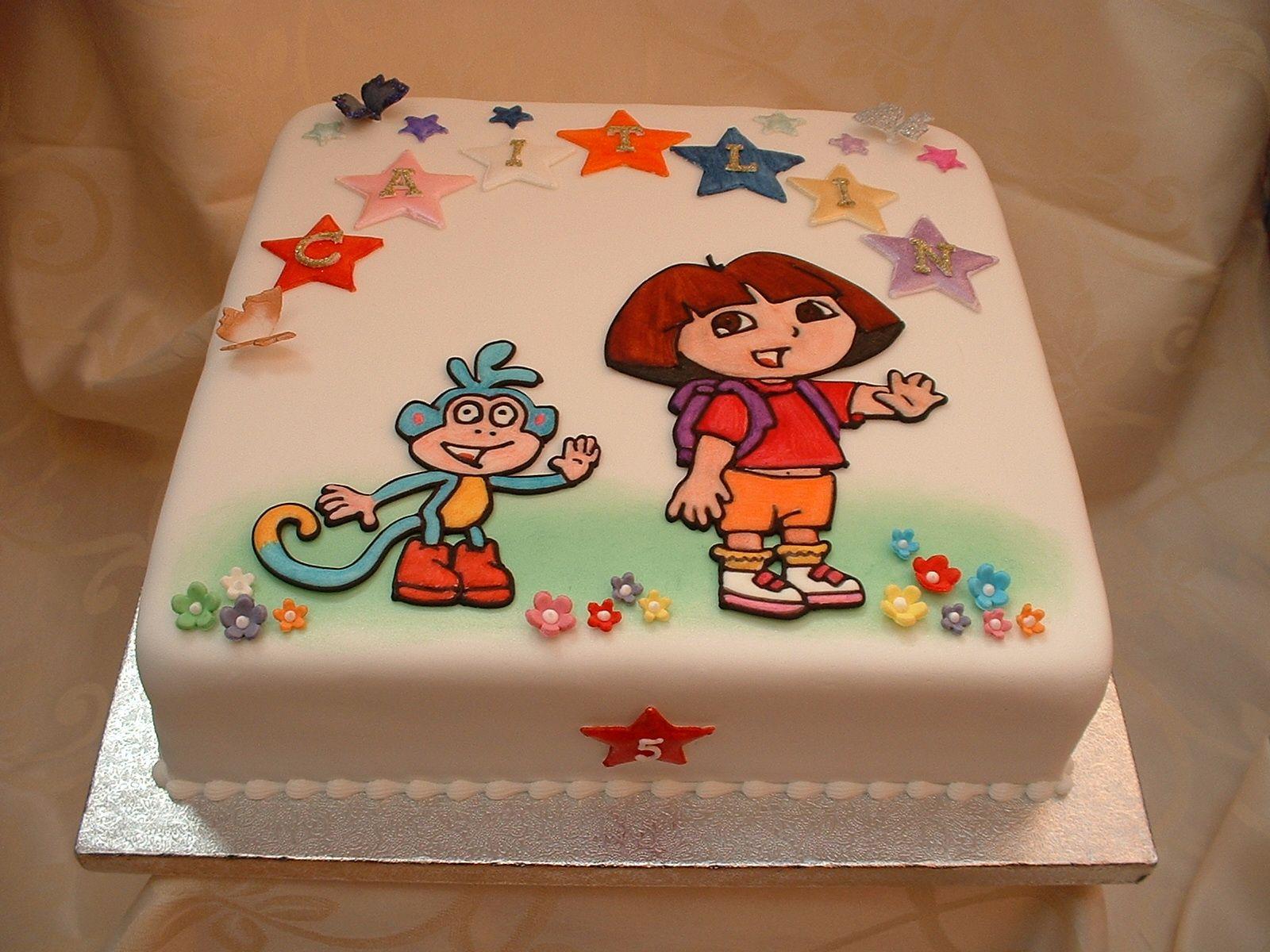 Happy Birthday Dora Cakes Dora The Explorer Birthday Cake cakes