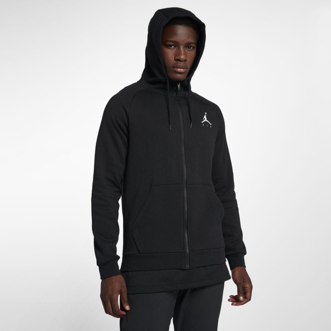 Jordan Jumpman Men's Fleece Full Zip Hoodie | Mens fleece