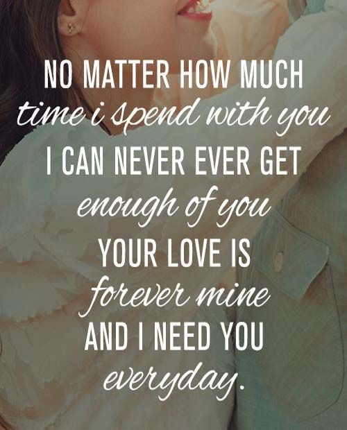 Your Love Is Forever Mine Quotes Soulmate Love Quotes Love