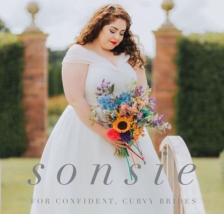 our beautiful model wears sonsie, plus size designer | plus size