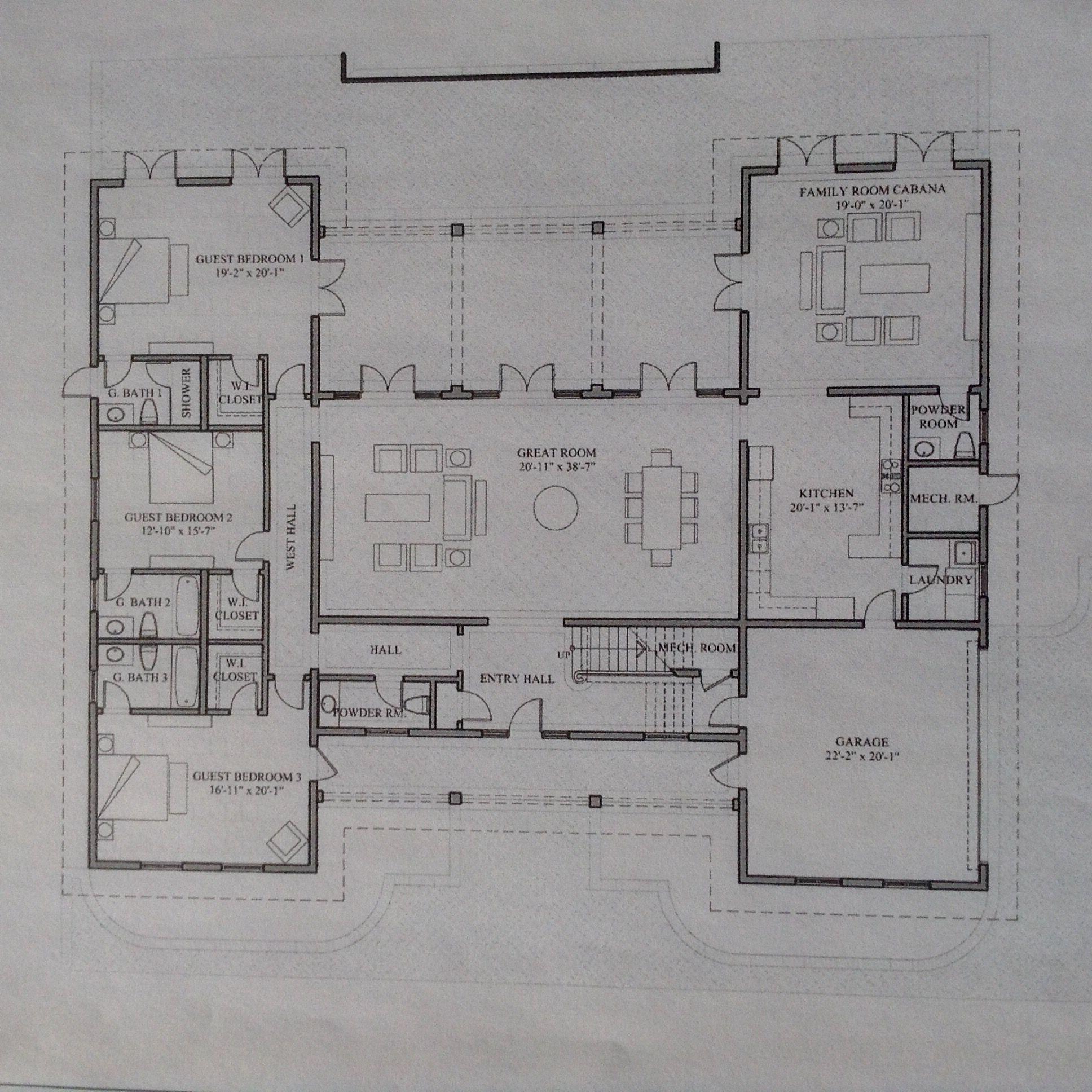 Villa Bellini Paradise Island Bahamas Main Level Grundriss Einrichten Und Wohnen Planer