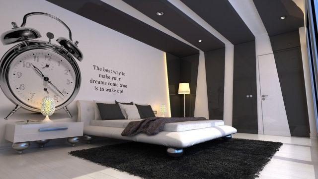 Lit moderne - 31 idees originales chambre à coucher sympa | Design ...
