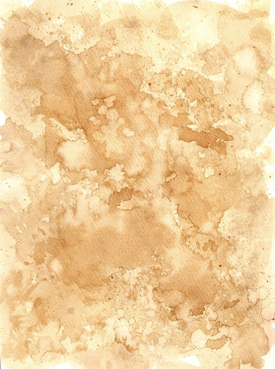 Coffee Stain Watercolor Paper Texture Photoshop Textures