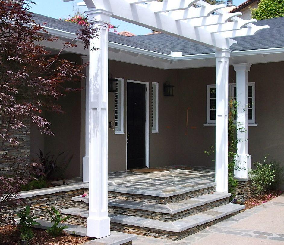 Garage Door Landscaping Ideas: ... . French Doors Added, New