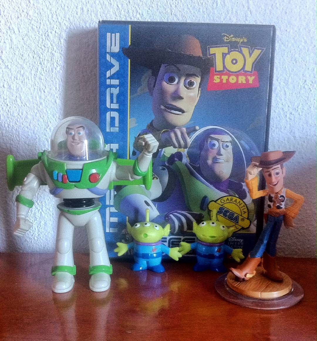 On instagram by l.oliveira83 #retrogames #microhobbit (o) http://ift.tt/1RRFL2P infinity and beyond ! #toystory #segagenesis #segamegadrive #megadrive #sega #disney #pixar #woody #buzzlightyear #retrogamers  #retrogaming #retrogamehunting #retrocollection #videogameart #videogames #videogamecollection #videogameaddict #videogamers #games #gamecollecting #gamecollector #gamer