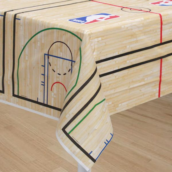 Basketball Themed Table Decorations   ... Inch Nba Spalding Basketball Table  Cover Cover Your