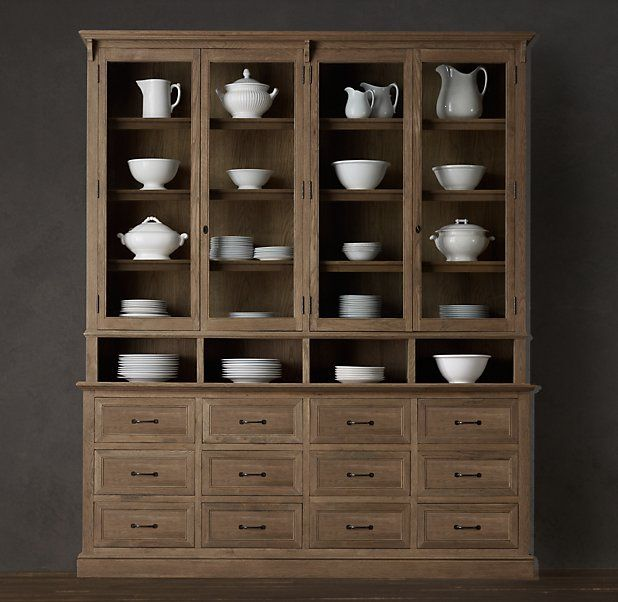 Apothecary display cabinet -restoration hardware