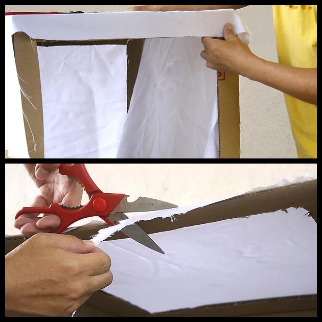 6 اقطع قطعة من القماش الأبيض قماش الشاش الأبيض النايلون الأبيض الصوف الأبيض كبيره كفاية لتناسب كل الفتحات الموجوده فى ا Handmade Items Handmade Crafts