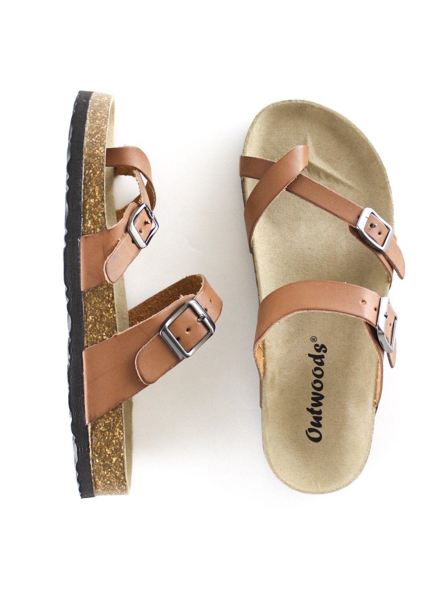 Double Buckle Sandals   Buckle sandals