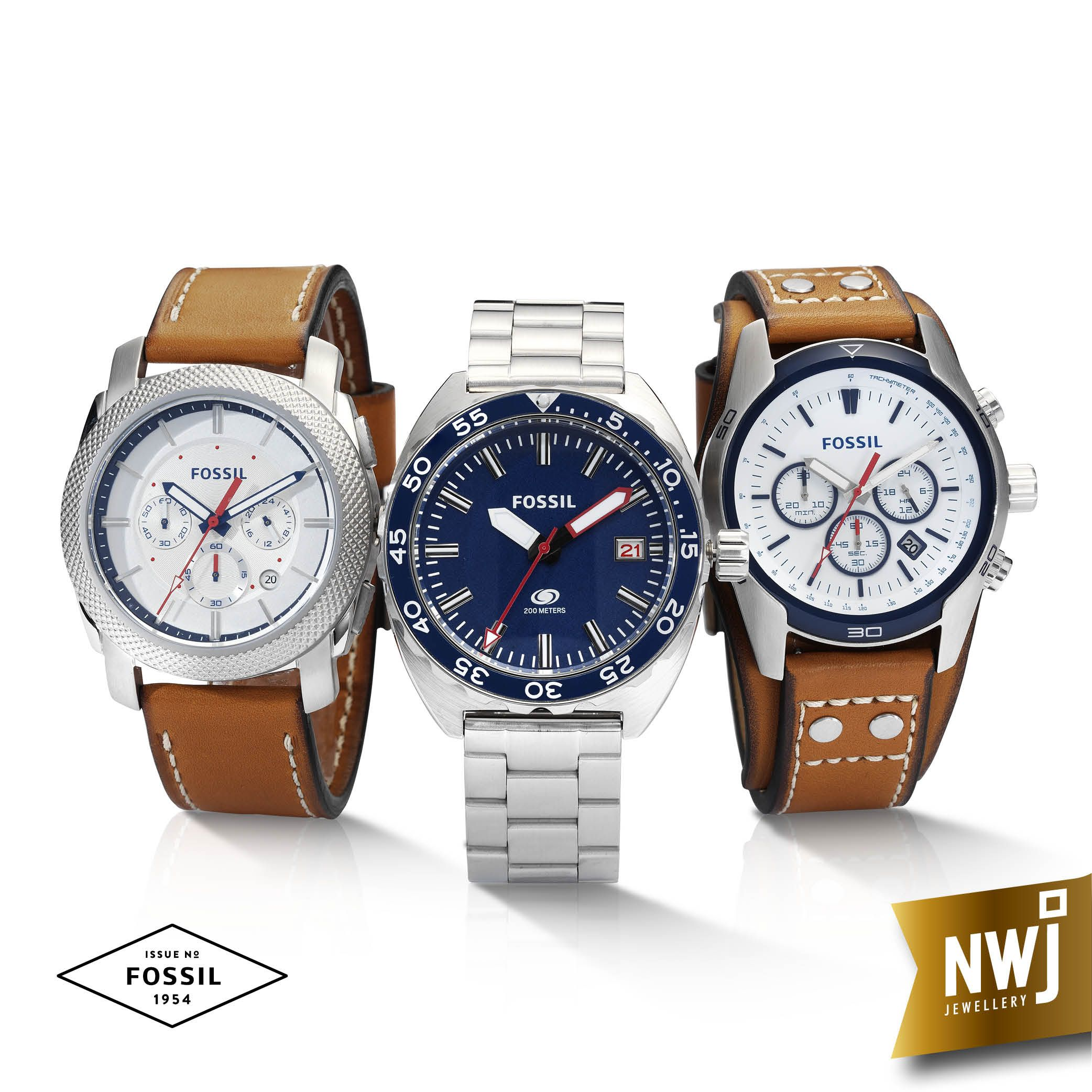 Aren t these Fossil watches just perfect for him