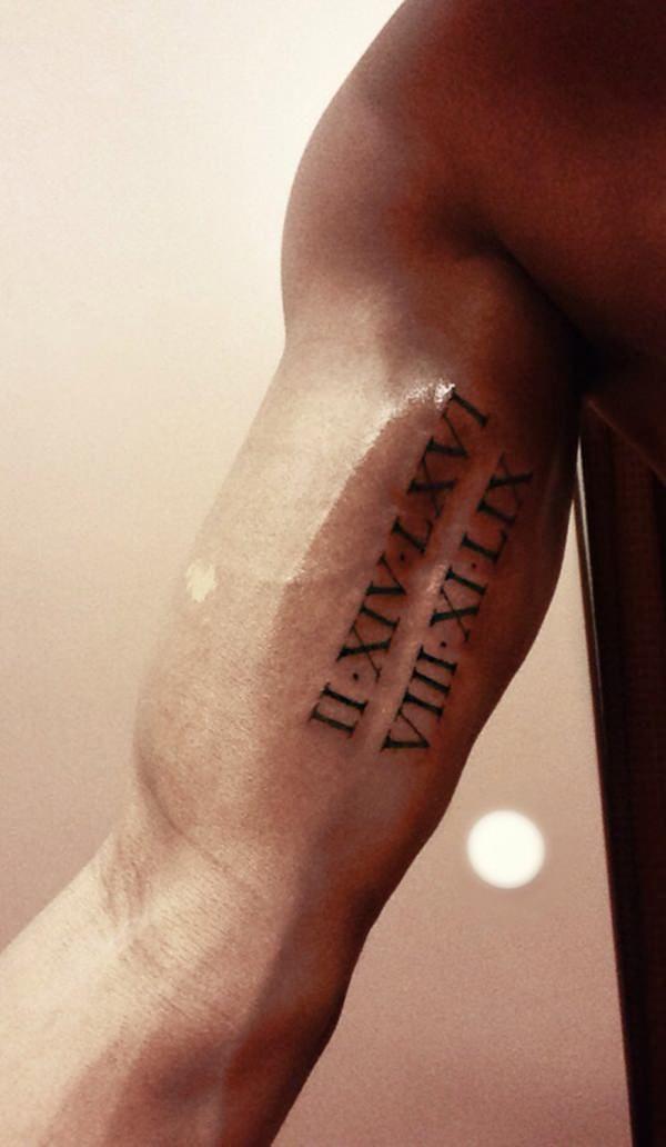 Are Roman Numeral Tattoos Lame: 54220216-roman-numeral-tattoos