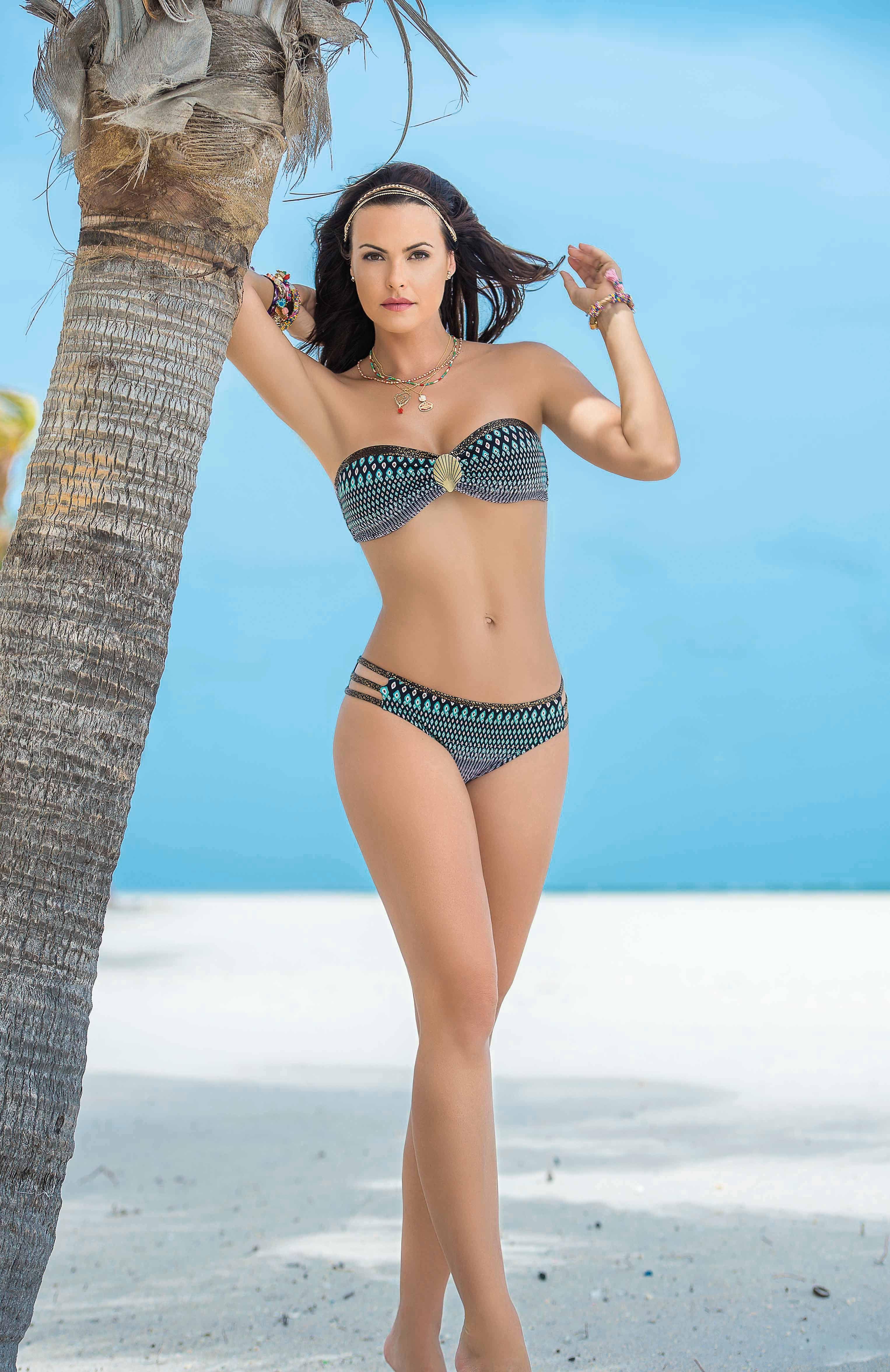 40bd39590466 Garotas Vestido de Baño - Strapless Ref 3053 #swimwear #beach ...