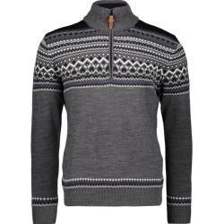 Photo of Cmp Herren Jacke Man Knitted Pullover Wp, Größe 50 in Fumo Melange, Größe 50 in Fumo Melange F.lli C