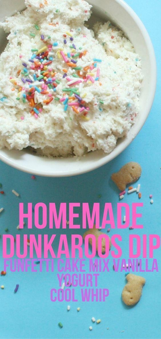 Homemade Dunkaroos Dip