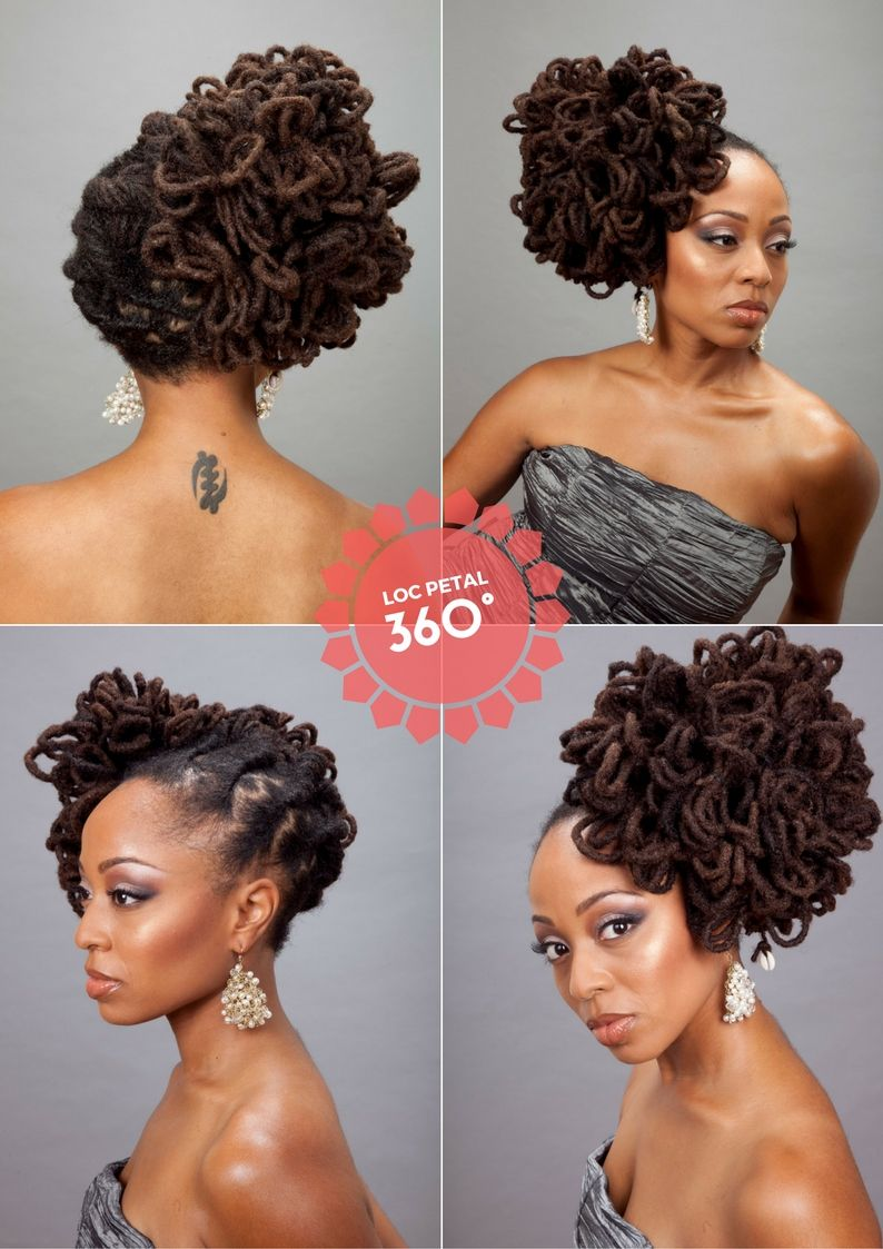 Loc Petals Are A Great Special Occasion Style Locd Up Pinterest
