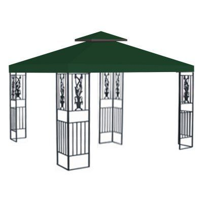 Sunrise 10 X 10 Ft Gazebo Replacement Double Tier Canopy Cover Green G246 Green Products Replacement Canopy Gazebo Replacement Canopy Canopy
