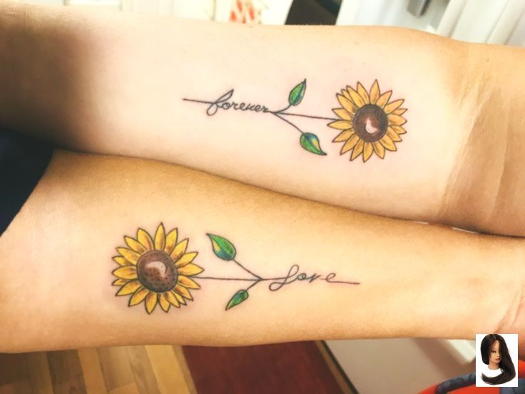 #Daughter #mother #mother daughter Tattoos #Sunflowers #Tattoo –