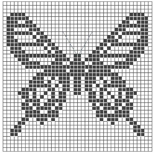 Cómo tejer Crochet Filet / Curso Gratis de Crochet Online ~ Patrones ...