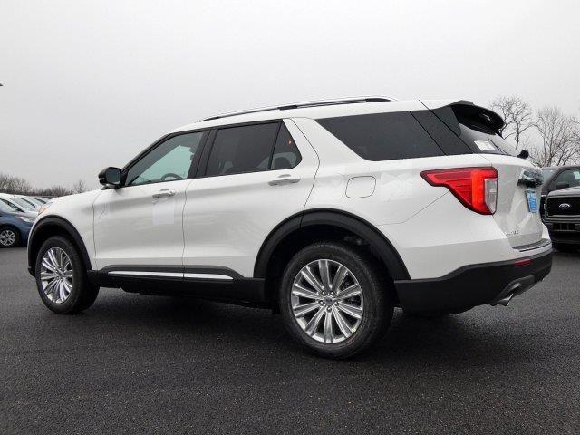 2020 Ford Explorer Limited in 2020 Ford explorer