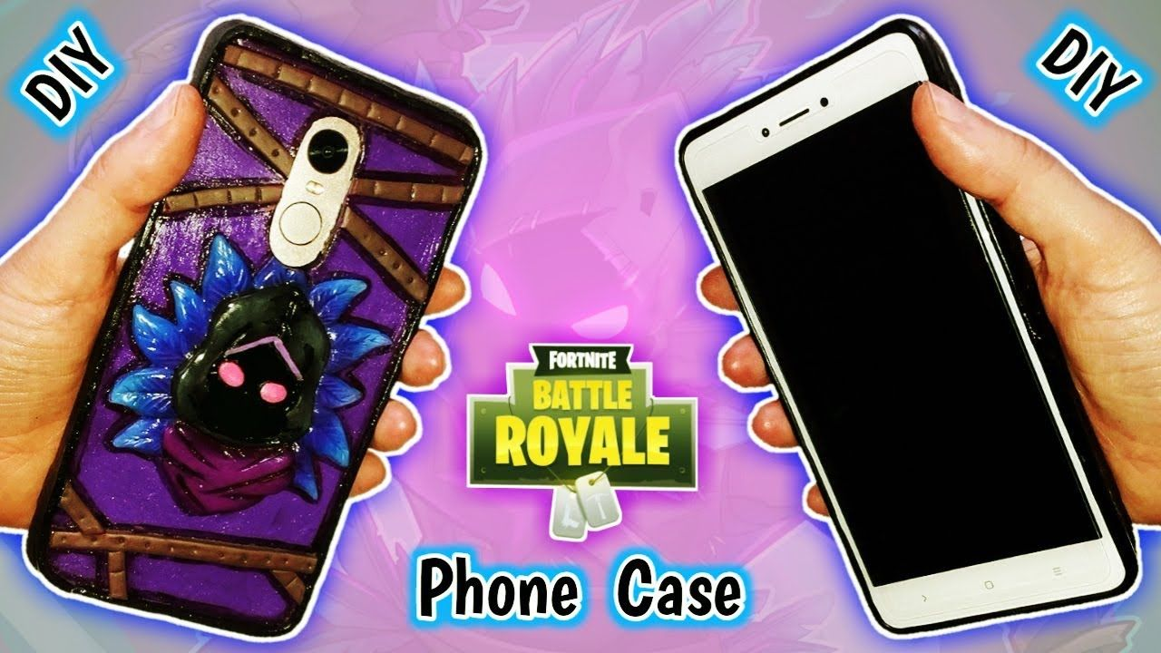 finest selection 5f917 d69d7 PHONE CASE | RAVEN | FORTNITE | DIY | Polymer Clay Tutorial | Crafts ...