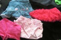 $10 (4) Adorable Toddler Shorts & Skirts