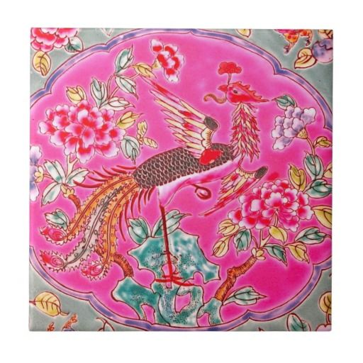 Vintage Peranakan Singapore Malaysia Indonesia Ceramic Tiles ...