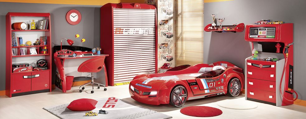 This Site Has Really Cool Racecar Bedatching Furniture