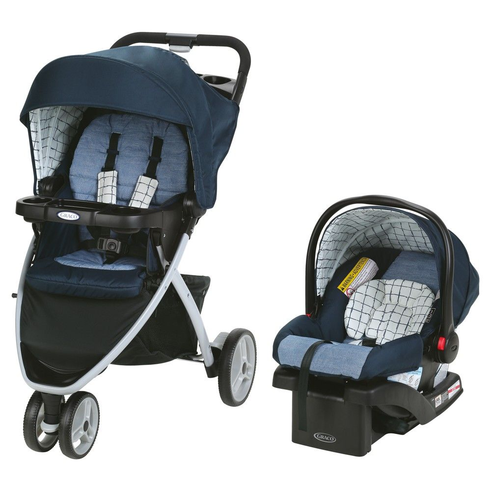 Graco Pace Travel System Quincy, Black Travel system