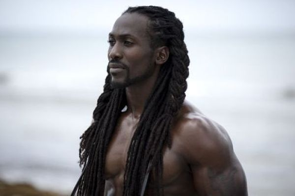 Black guys with long hair #blackhairstyles